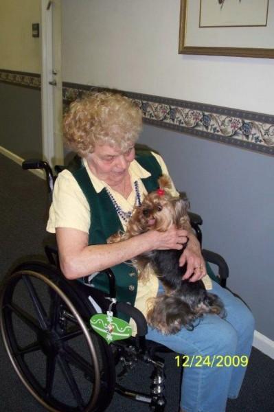 Pet Therapy-Jasmine 2009 002