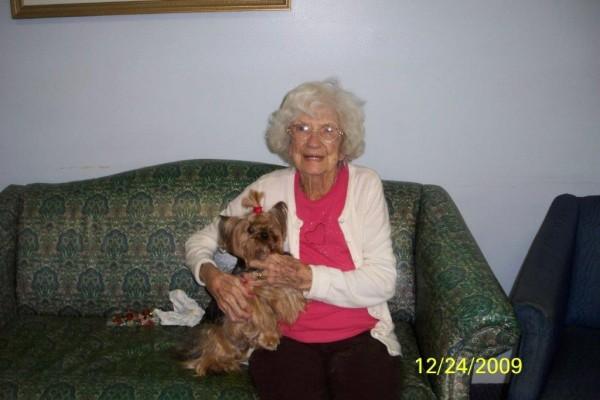 Pet Therapy-Jasmine 2009 003